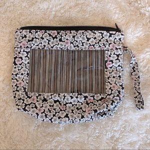 ✨3/$10✨ Cute Floral Travel Makeup Case Bag Pouch